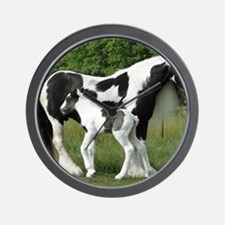 Calendar Chavali and foal Wall Clock