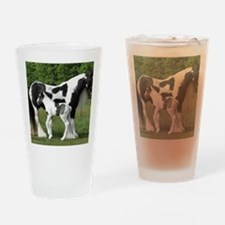 Calendar Chavali and foal Drinking Glass