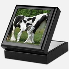 Calendar Chavali and foal Keepsake Box