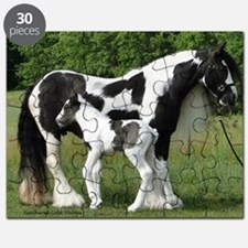 Calendar Chavali and foal Puzzle