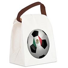 socc_big_mexico Canvas Lunch Bag