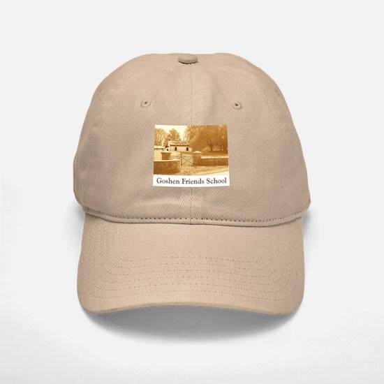 Goshen Friends Baseball Baseball Cap -- Khaki