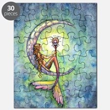 mermaid moon 9 x 12 cp Puzzle