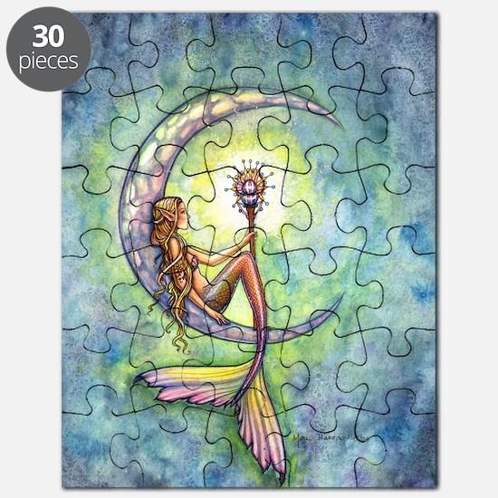 mermaid moon 9 x 12 cp Puzzle