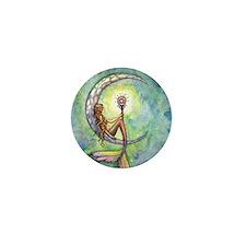 mermaid moon 9 x 12 cp Mini Button
