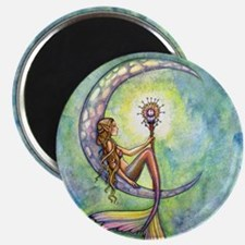 mermaid moon 9 x 12 cp Magnet