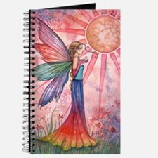 sunshine and rainbow 9 x 12 cp Journal