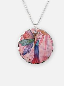 sunshine and rainbow 9 x 12  Necklace Circle Charm
