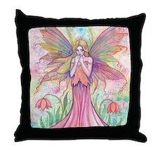 wildflower 9 x 12 cp Throw Pillow