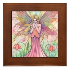 wildflower 9 x 12 cp Framed Tile
