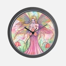 wildflower 9 x 12 cp Wall Clock