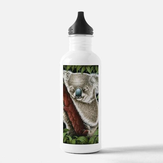 3G Koala Sleeping (iph Water Bottle