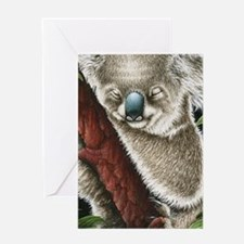 3G Koala Sleeping (iphone case 1) Greeting Card