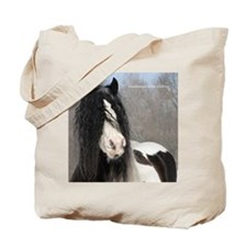 Square Winter Moe head Tote Bag