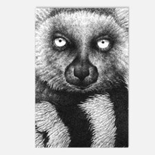 3G Ring-tailed Lemur (iph Postcards (Package of 8)