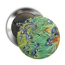 """Irises 2.25"""" Button"""