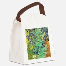 Irises Canvas Lunch Bag