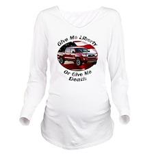 cat5car17bg51ut9lt22 Long Sleeve Maternity T-Shirt