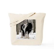 Novel Winter Sq Tote Bag