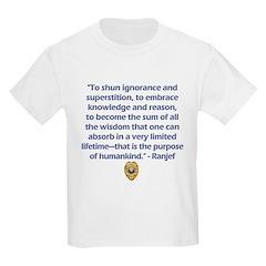 RRS Quotables Kids T-Shirt