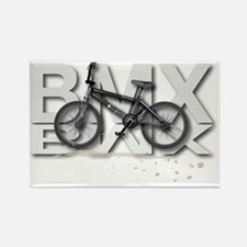 BMX Bike Design Rectangle Magnet