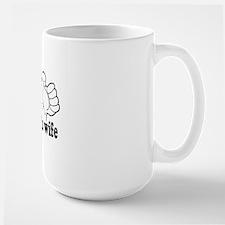 tshirt designs 0672 Large Mug