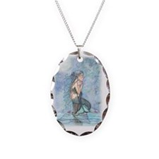 still waters cp Necklace Oval Charm