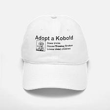 adoptakobold2black Baseball Baseball Cap