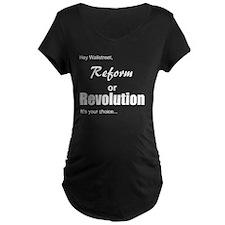 reformorrevoltwhite T-Shirt