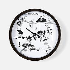 7418_law_cartoon Wall Clock