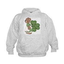 Irish girl teddy bear Hoodie