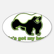 HBGMB grren Sticker (Oval)