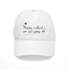 santa33 Baseball Cap