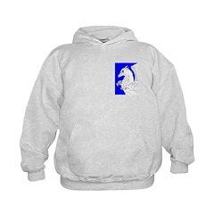 Plotting Gryphon in Blue Hoodie