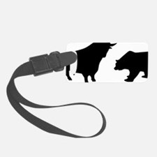 bull_bear Luggage Tag