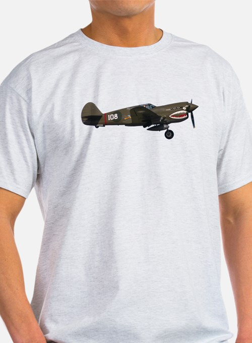 Curtiss P-40 T-Shirt (many colors available)