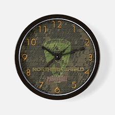 Northern Shield Wall Clock