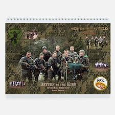 Northern Shield Paintball Team Wall Calendar