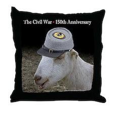 Ruby civil war box-pillow Throw Pillow