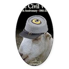Ruby Civil War Anniversary Journal Decal