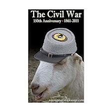 Ruby Civil War Anniversary Jou Decal