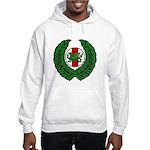 Midrealm Laurel/MK badge Hooded Sweatshirt