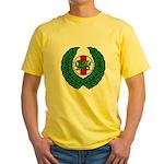 Midrealm Laurel/MK badge Yellow T-Shirt