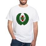 Midrealm Laurel/MK badge White T-Shirt