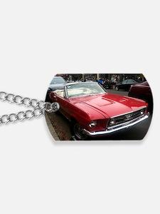 1968 Mustang GT/A Diagonal View Dog Tags
