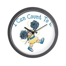 I can count to E Wall Clock