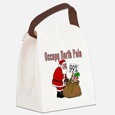 Occupy-North-Pole Canvas Lunch Bag