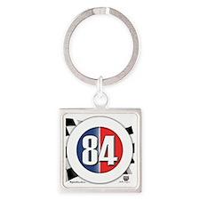roundlogo84 Square Keychain