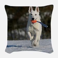 vert_cal_jan Woven Throw Pillow