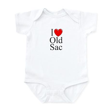 """I Love Old Sac"" Infant Bodysuit"